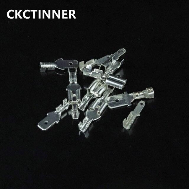 20 sztuk/partia 2.8mm 4.8mm 6.3mm izolacyjny zacisk sprężynowy wtyczki z przezroczysta osłona