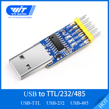 WitMotion USB UART 3 in 1 Converter, Multifunctional (USB TTL/RS232/RS485) 3.3 5V Serial Adapter, CH340 Chip,Professional Design