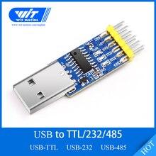 WitMotion USB UART 3 in 1 konwerter, wielofunkcyjny (USB TTL/RS232/RS485) 3.3 5 V adapter szeregowy, CH340 układu, profesjonalny projekt,