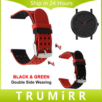 Double Side Wearing Watchband 21mm 22mm Tool For Timex Silicone Watch Band Wrist Strap Rubber Bracelet