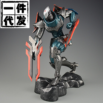 NEW Hot! 23cm The Master of Shadows PROJECT  Zed action figure toys collection doll Christmas gift with box new hot 23cm the frost archer ashe vayne action figure toys collection doll christmas gift with box
