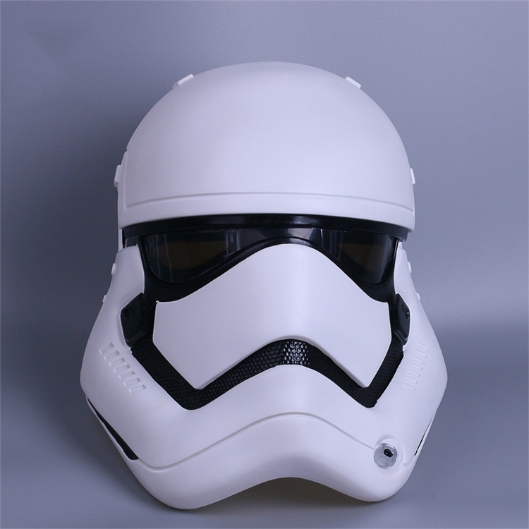 Star Wars The Force Awakens Stormtrooper Cosplay Helmet White Soldier Helmet Halloween Cosplay Party Masks Helmet 3 Colors
