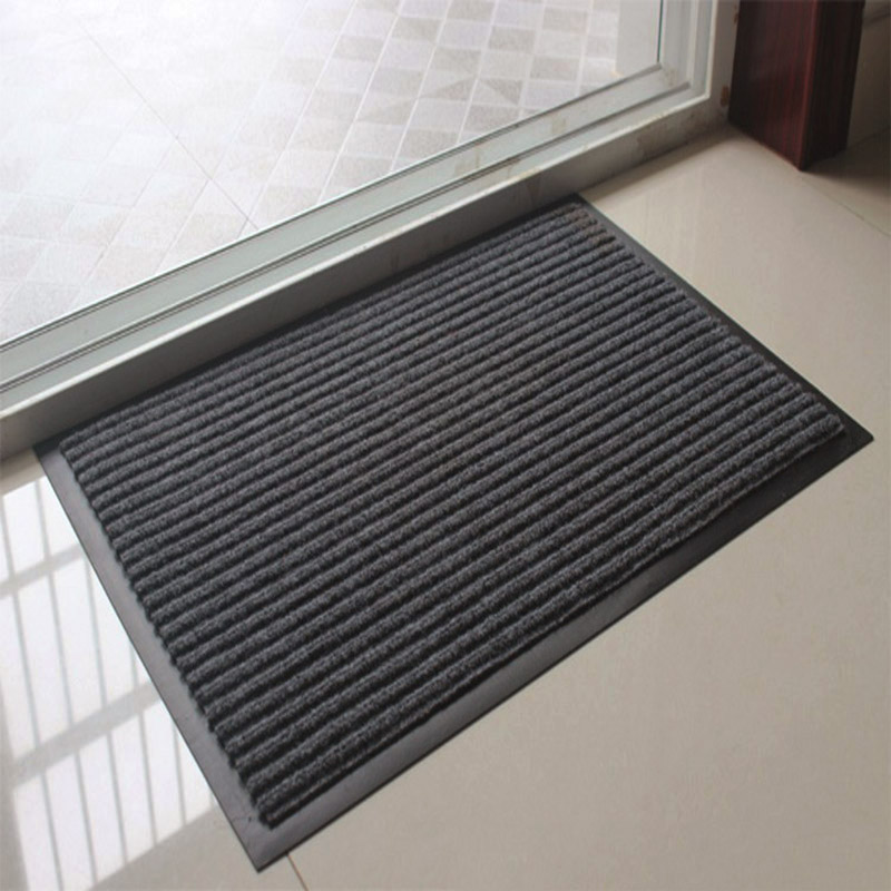 Anti-slip Stripe Doormat Floor Rug Kitchen Carpet Floor Mat Door Way Feet Mat Bath Rug Kitchen Rug Balcony Bathroom Door Mat