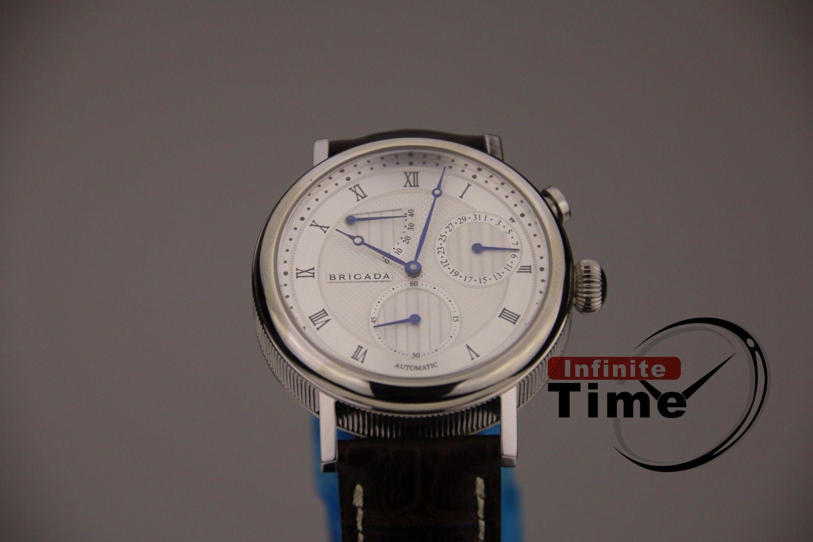 0a66f55771c9 BRIGADA reloj de pulsera de reserva cita payaso reloj de pulsera automático para  hombres vestido de - a.sreelakodali.me