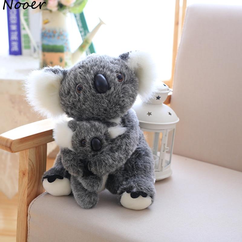 Nooer Kawaii Koala Plush Toys For Children Australian Koala Bear Plush Stuffed Soft Doll Kids Lovely Gift For Girl Kids Baby