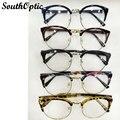 Старинные ретро очки женщин полный-рим очков кадров óculos receituario марко де-охос очки кадров для мужчин 8110