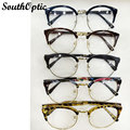Vintage Retro Eyeglasses Prescription Women Full Rim Eyeglasses Frames oculos receituario marco ojos Glasses Frames For Men 8110