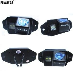 Автомобильный монитор FUWAYDA для зеркала заднего вида с ЖК-дисплеем 4,3 дюйма и камерой ночного видения для TOYOTA LAND CRUISER PRADO 2700 4000