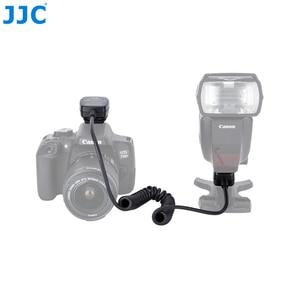 Image 2 - JJC 1,3 M TTL Off DSLR шнур для вспышки камеры Горячий башмак Синхронизация удаленный кабель фокусировки света кабель для Canon 600EX II RT/600EX RT/430EX