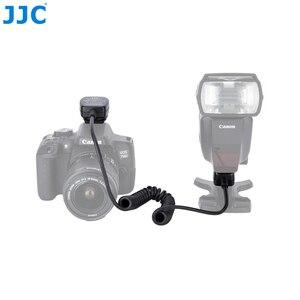 Image 2 - Jjc 1.3 m ttl 오프 dslr 카메라 플래시 코드 핫슈 동기화 원격 케이블 라이트 포커스 케이블 캐논 600ex II RT/600ex rt/430ex III RT