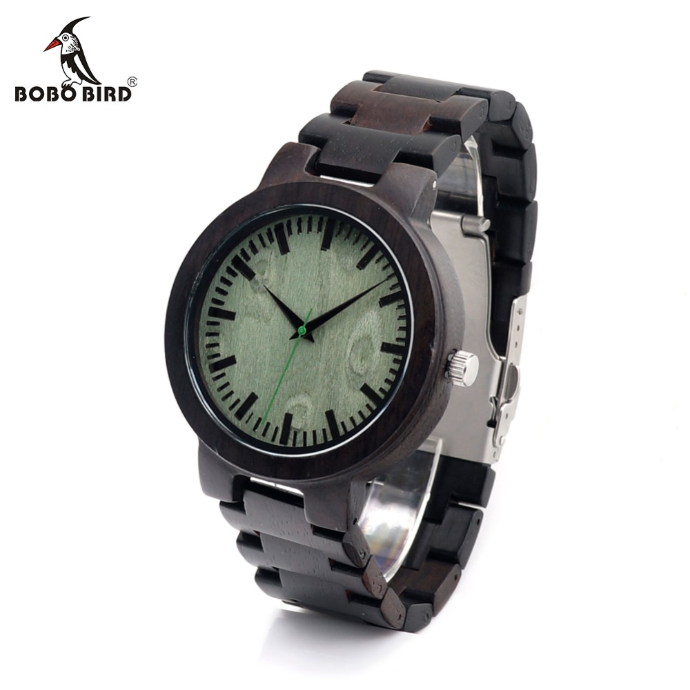 BOBO BIRD Cd29 Wood Wristwatch Fashion Classic Style Erkek Watch Casual Quartz Watch for Men as