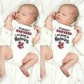 Bonito Harry Potter Romper Do Bebê Recém-nascido Infantis Meninos Meninas de Algodão de manga curta Romper Crianças Jumpsuit Roupas Outfit