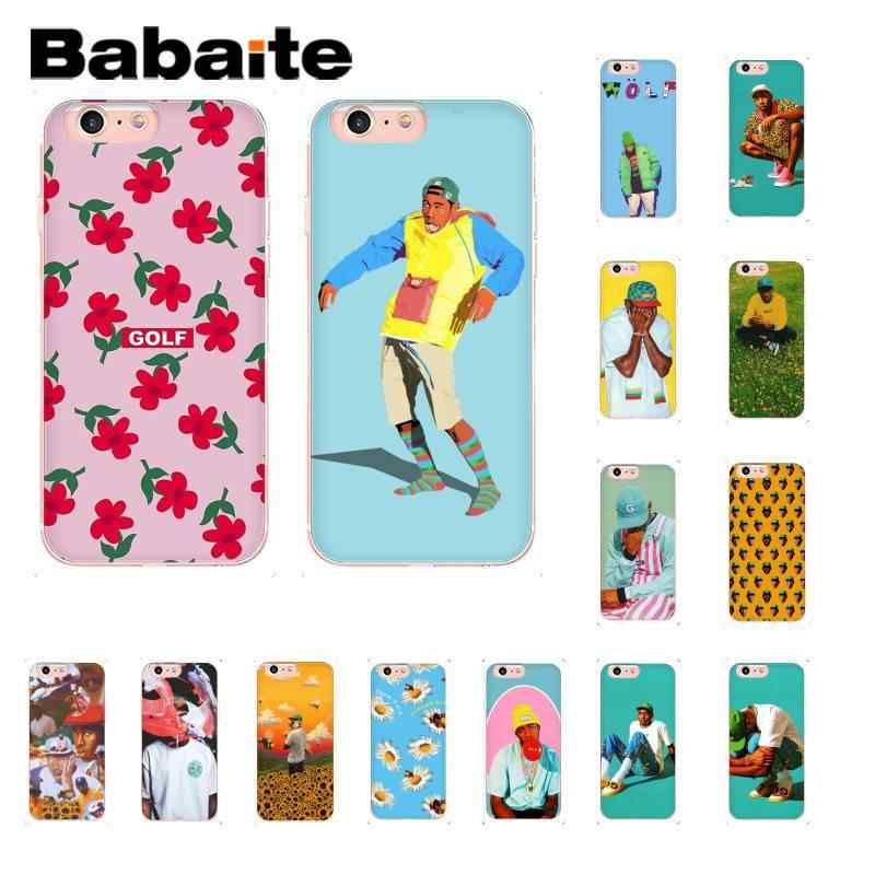 Babaite tyler twórca kwiat chłopiec moda Golf Wang etui na telefon dla iPhone8 7 6 6S 6Plus X XS MAX 5 5S SE XR 11 11pro 11promax
