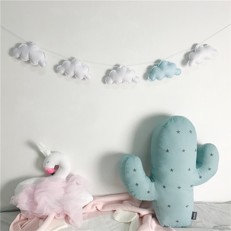 5PC-Set-Hot-Sale-Felt-Cloud-Garland-Party-Banner-Kids-Room-Nursery-Hanging-Wall-Decor-Christmas (1)