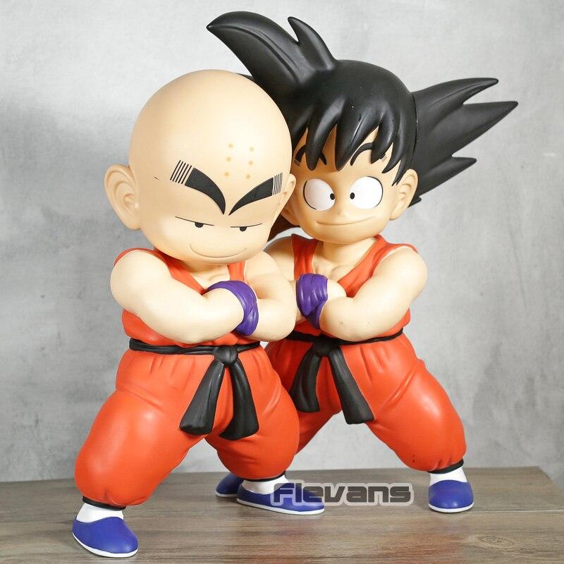 Dragon Ball Z fils Goku & Krillin enfant Ver. Figurines en PVC à collectionner modèle jouets cadeau 2 pièces/ensemble