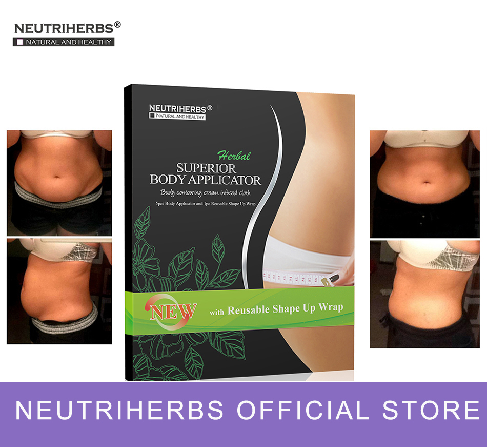 5 pcs Neutriherbs Body Applicator Skin Tightening, Firming Cream It Works to Stretch Marks Removal Weight Loss ...