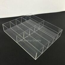 Handmade Acrylic 10 Section Drawer Jewelry Organizer Tray