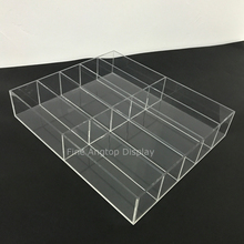 Handmade Acrylic 10 Section Drawer Jewelry Organizer Tray
