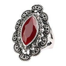Bulgarie anneaux mariage fiançailles anneaux bague argent S femme anneaux vintage anneaux pour femmes bijoux punk anel tendances anello