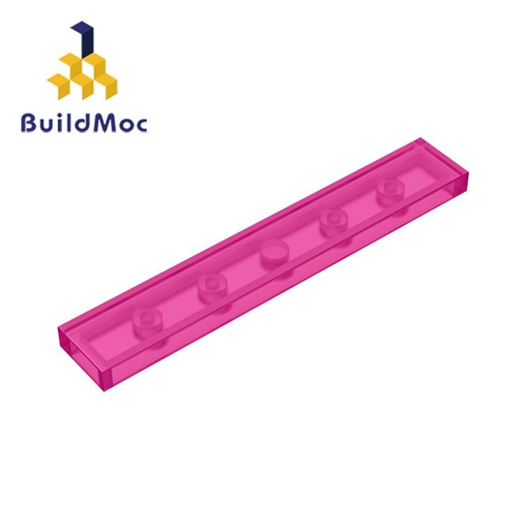 BuildMOC Compatible Assembles Particles 6636 1x6 For Building Blocks Parts DIY Enlighten Block Bricks Educational Gift Toys