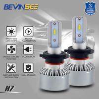 NICECNC 8000LM/kit H7 Headlight LED Bulbs For Porsche 911 Boxster Cayenne Panamera 2012 6000K White Car Plug Play LED Light