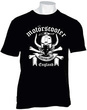 New Brand-Clothing T Shirts MOTOR STYLE MOTORSCOOTER T SHIRT SCOOTER BOYS MODS SKINS Summer Fashion