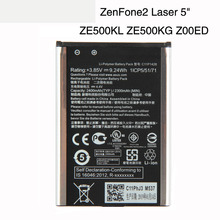 Orginal C11P1428 Phone Battery For ASUS ZenFone2 Laser 5 ZE500KL ZE500KG Z00ED 2400mAh чехлы накладки для телефонов кпк asus zenfone2 zenfone2 ze550ml ze551ml