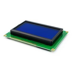 Image 4 - LCD לוח צהוב ירוק מסך 12864 128X64 5V כחול מסך תצוגת ST7920 LCD מודול עבור arduino 100% חדש מקורי
