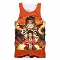 b2a1902816d46 SOSHIRL One Piece Anime DBZ 3D All Over Print Tank Top Hipster Sleeveless T  Shirt Summer