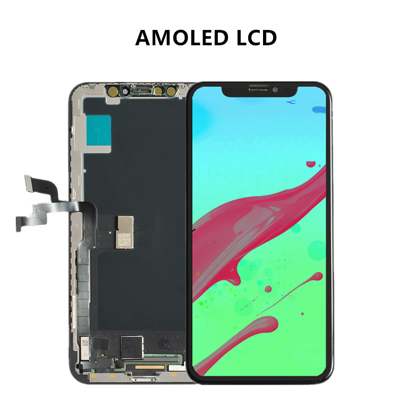 For iPhone X XS LCD Touch Screen No Dead Pixel AMOLED OEM