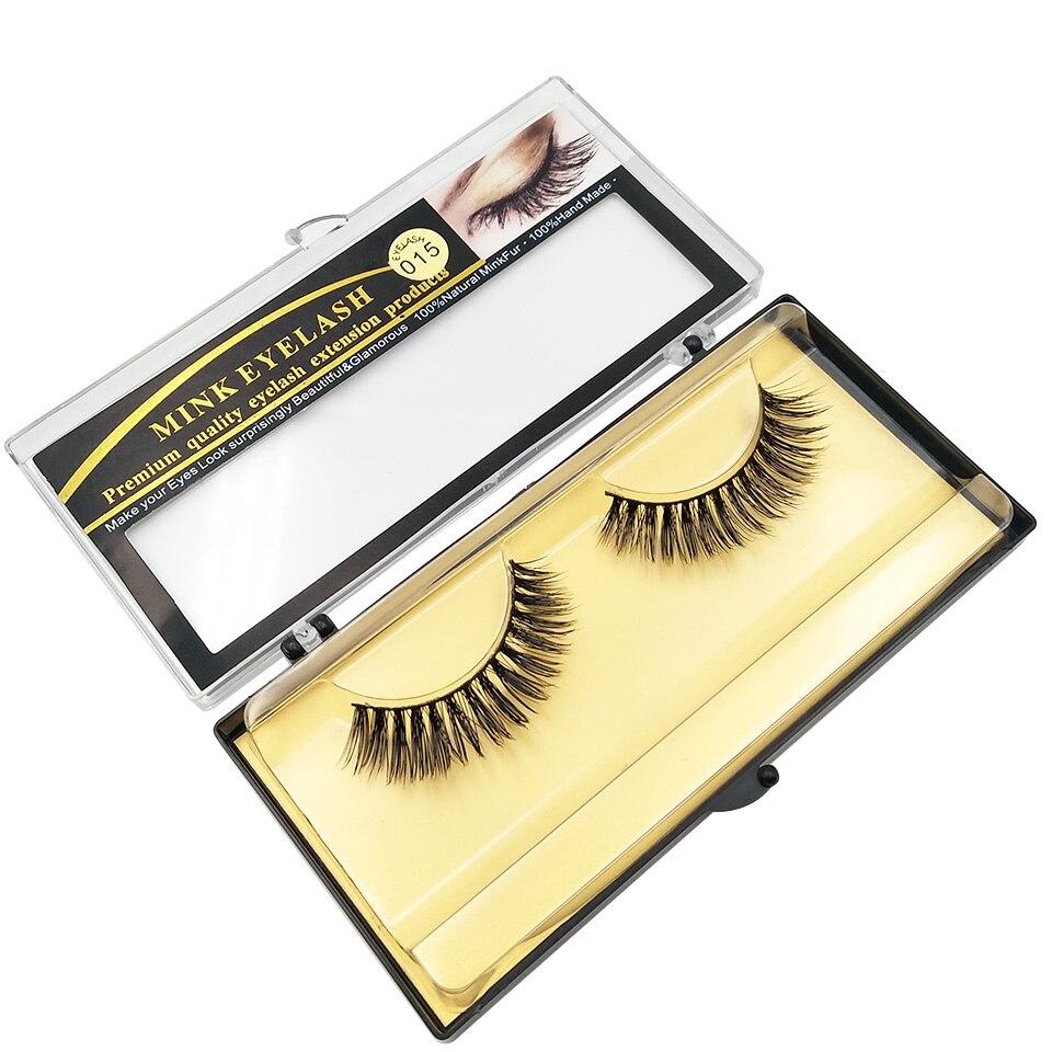 XME015 natural long lashes  (6)