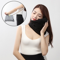 Airplane Inflatable Neck Body Pillow Comfortable Travel Pillows For Sleep Home Textile Pillow Portable Travel Tools
