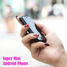 Super mini smartphone Android smart phone original SOYES 7S 6S Quad Core 1GB+8GB 5.0M Dual SIM mobile cell phone free case gift(China)