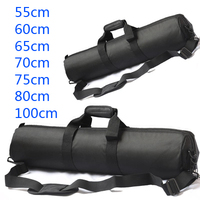 55cm 60cm 65cm 70cm 75cm 80cm 100cm Tripod Bag Padded Camera Monopod Tripod Carrying Case With