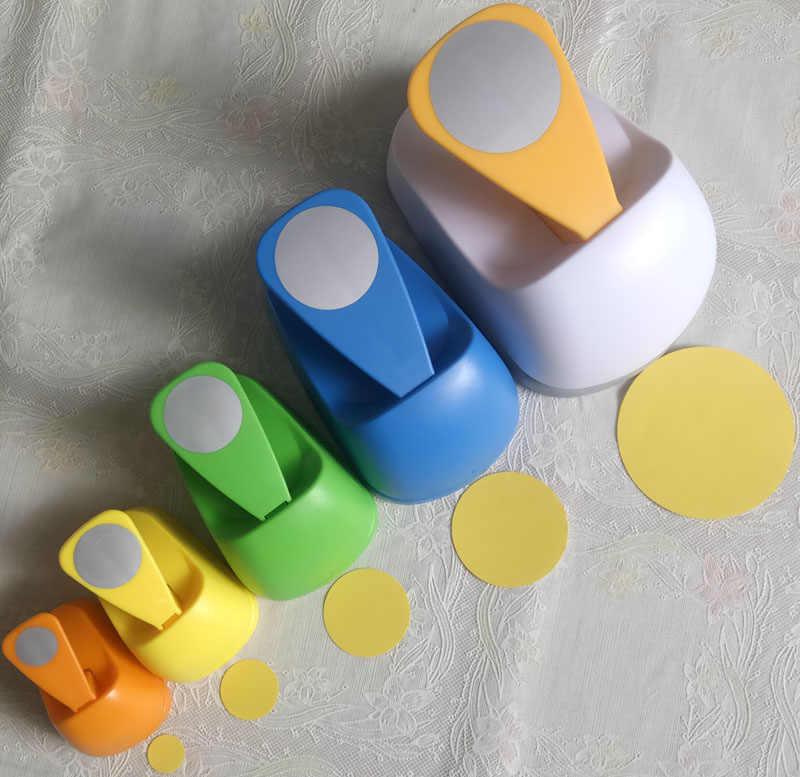 """3 """"2"""" 1.5 """"1"""" Cirkel Vorm Craft Punch Gat Paper Cutter Scrapbooking School Papier Puncher Gat punch Gratis Verzending Embosser"""