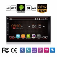 In Dash Universal Double 2 Din Pure Android Car DVD Player GPS Wifi Bluetooth Radio 1GHZ