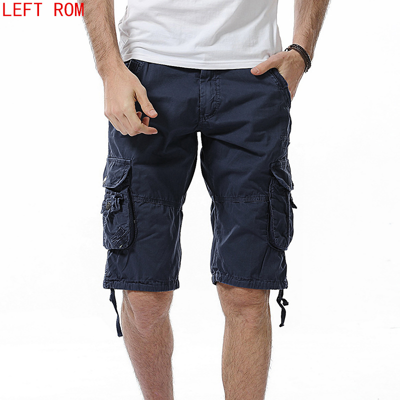 Camouflage lot pocket Shorts Men 2018 New Mens Casual Shorts Male Loose Work Shorts Man Military Short Pants Plus Size 29-40