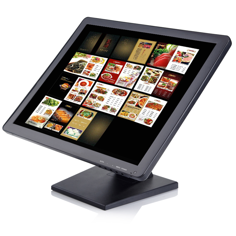 15 inch BNC HDMI VGA industrial security LCD monitor computer display desktop screen monitor with resolution