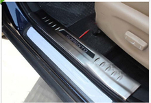 Stainless steel inside door sill scuff plate for NEW KIA SORENTO 2013 2014 new 6pcs steel inside door sill scuff plate cover guards for jeep patriot compass 2011 2015