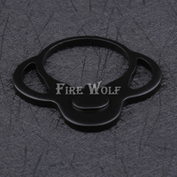 FIRE WOLF New AR Single Point End Plate Dual Loop Sling Adapter Right Left Handed Mount