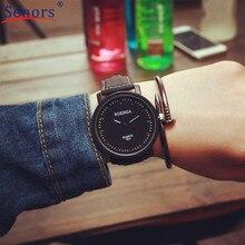 relogio masculino uxury PU Leather Quicksand  clock women men  Quartz watch montre femme new design hort sale 2017 spring