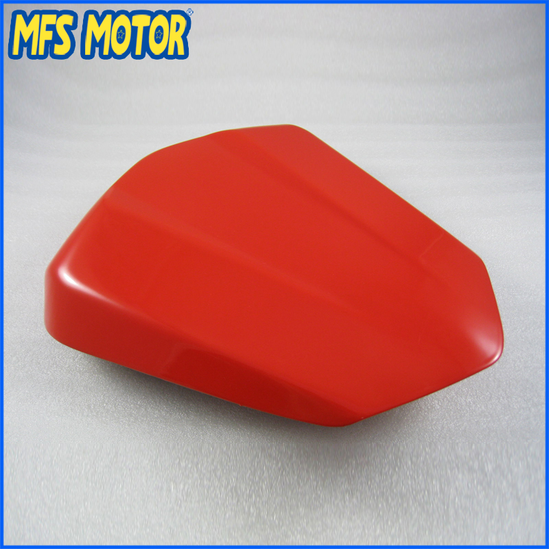 Motorcycle Accessories For YZF-R6 Motorcycle Rear Pillion All Red Injection ABS Seat Cowl Cover For Yamaha YZF-R6 2006-2007