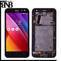 For ASUS Zenfone 2 Laser ZE550KL LCD Display and Touch Screen with Frame Replacement Parts For ZE550KL LCD with frame or without