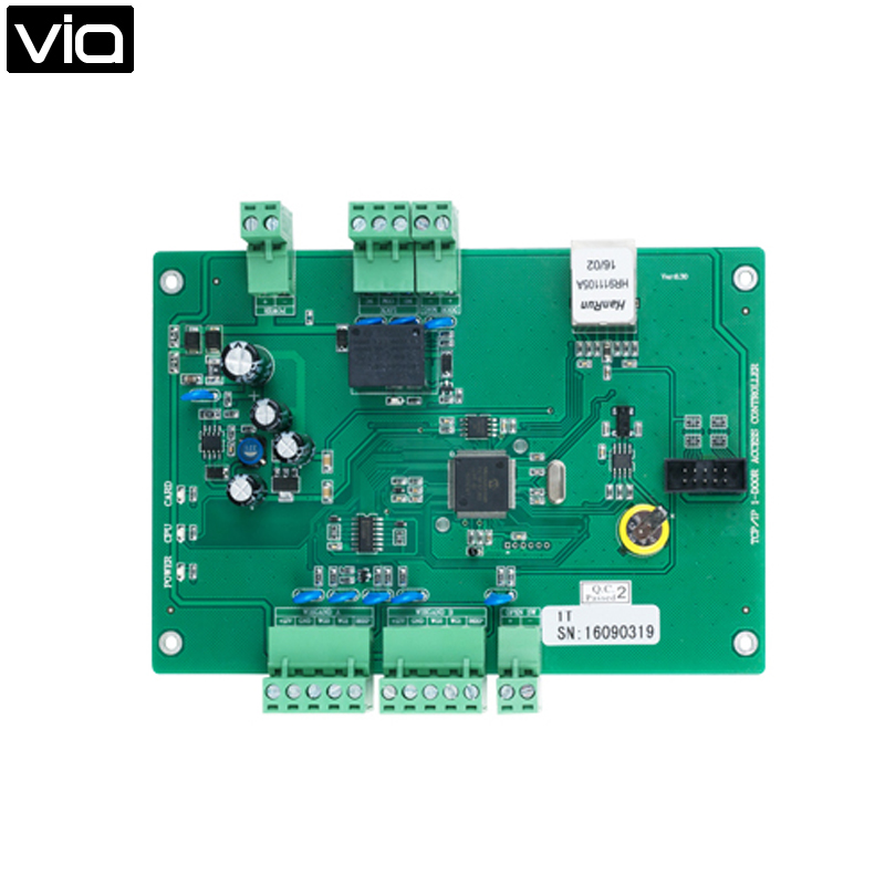 MC-5812T Direct Factory TCP/IP Single Door Access Control Board, One TCP/IP Communication port.Support Operating Voltage DC12V biometric face and fingerprint access controller tcp ip zk multibio700 facial time attendance and door security control system