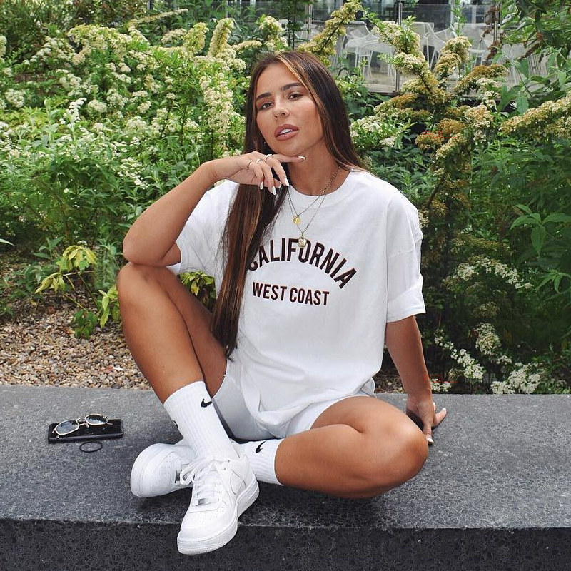 California West Coast Women Tshirt Cotton Casual Funny T Shirt For Lady Girl Top Tee Hipster Tumblr Ins Drop Ship NA-9