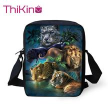 Thikin Dinosaur Shoulder School Square Messenger Book Bag Coin Purse Kids Crossbody Schoolbag Girls Bags Mochila Infantil