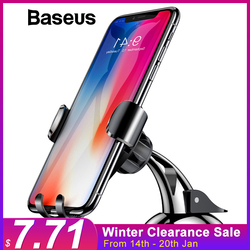 Baseus Universal Gravity Car Phone Holder Sucker Suction Cup Windshield Car Holder For iPhone XS X Samsung S9 Phone Holder Stand