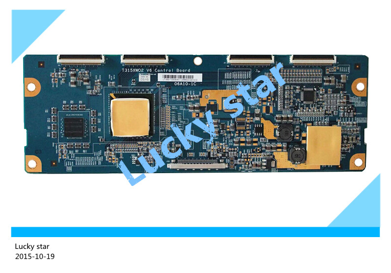 100% tested good working High-quality for original 98% new T315XW02 V6 CTRL BD 06A10-1C 06A10-1B logic board teak house тумба для ванной mimizan 110