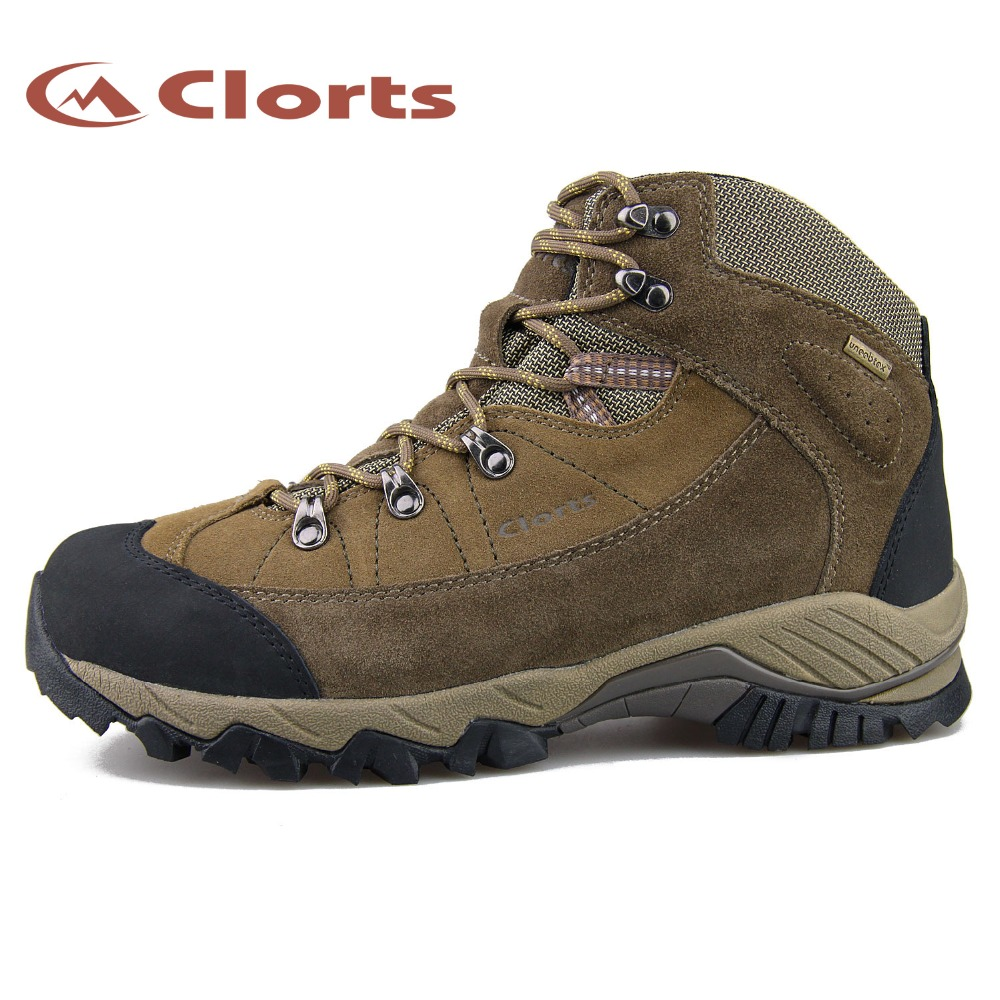 2016 Clorts Men Outdoor Boots Waterproof Breathable Hiking Shoes Sport Sneakers for Men 3B010D clorts men trekking shoes 2016 waterproof breathable outdoor shoes non slip hiking boots sport sneakers 3d028