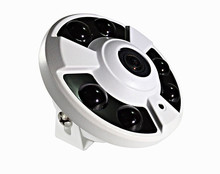 Security HD CMOS 960P 1.3MP 12V 2A 360 Degree Fisheye Panoramic IP CCTV Dome Surveillance Camera System with 1.2mm Lens